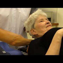 Borstkankerpatiënt Gerda Cobben krijgt een bestralingsmasker | Catharina Ziekenhuis