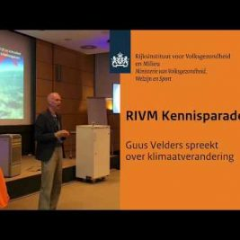 RIVM Kennisparade: Guus Velders