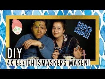 DIY 4x MASKERS MAKEN MET JOEY | SUPER SIMPEL! #18