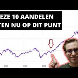 10 aandelen Die Te Hard Gezakt Zijn (En Weer Gaan Stijgen)