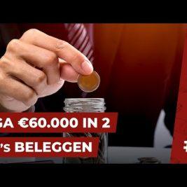 IK GA IN BEIDE ETFs €60.000 beleggen IN DE KOMENDE 10 JAAR || PORTFOLIO SHOW #2