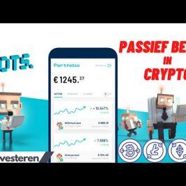 Geld verdienen met CRYPTO zonder zelf te handelen? | beleggen via BOTS