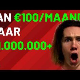 BEGINNEN MET beleggen IN 2021 (€100/pm naar 1 MILJOEN+)