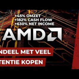 AANDEEL MET VEEL POTENTIE (AMD) TOEVOEGEN AAN HET PORTFOLIO || aandelen PORTFOLIO OPBOUWEN #18