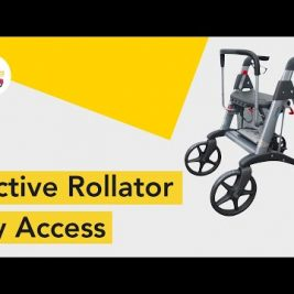 How to use Access Active Rollator