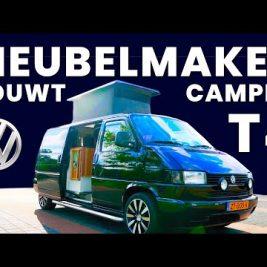Meubelmakers bouwen Volkswagen T4 om naar camper