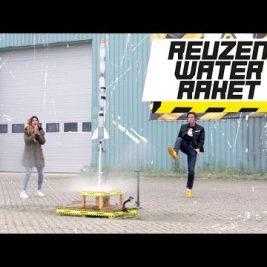 REUZEN WATERRAKET! – GROTER IS BETER